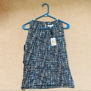 NWT Calvin Klein Patterened Top